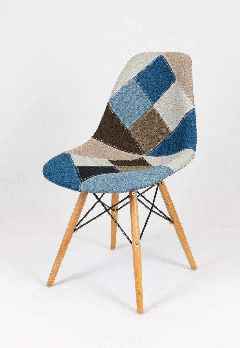 sk design kr012 gepolsterter stuhl patchwork 6 buche pat6m holz buche angebot st hle. Black Bedroom Furniture Sets. Home Design Ideas