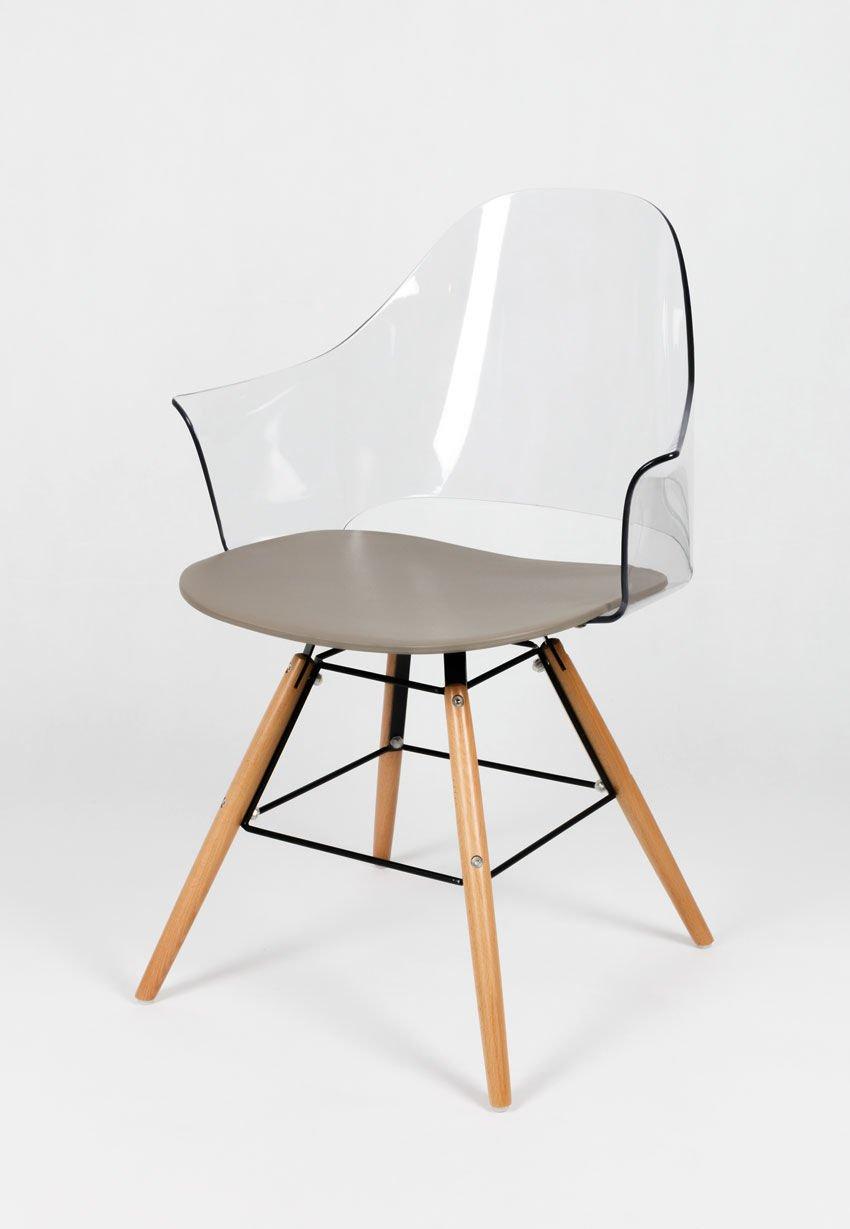sk design kr012f transparent sessel ghost angebot. Black Bedroom Furniture Sets. Home Design Ideas