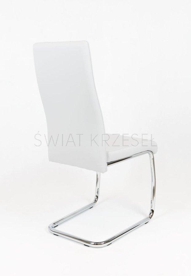 sk design ks036 weiss kunsleder stuhl mit chromgestell weiss angebot st hle farbe weiss. Black Bedroom Furniture Sets. Home Design Ideas