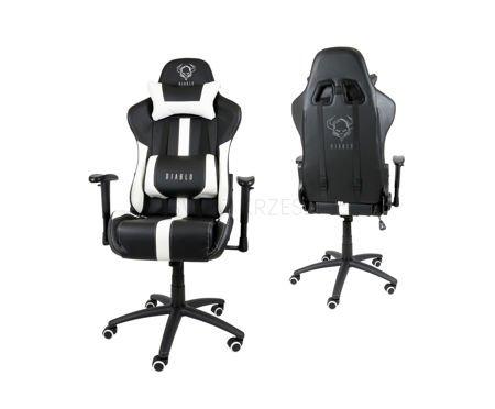 Fotel Gamingowy Diablo X-Player Czarno-Biały