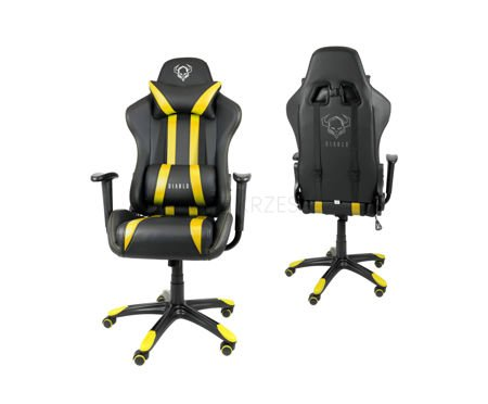 Fotel Gamingowy Diablo X-One Czarno-żółty