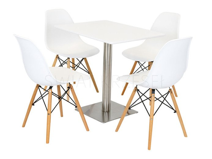 sk design st07 white table 60 x 80 chrome offer tables