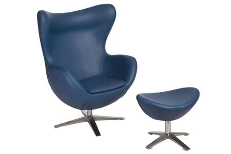 Armchair Jajo Soft with lift sk. eco 518 dark blue