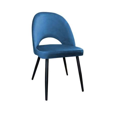 Blue upholstered LUNA chair material MG-33