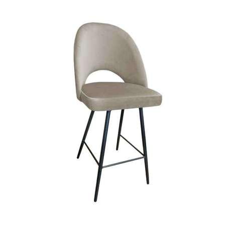 Brown upholstered LUNA hoker material MG-09