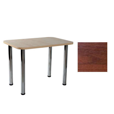 Carlo 03 Walnut table 50x80x1,8