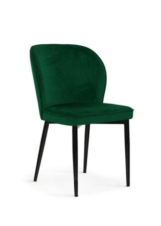 Chair AINE green / black leg / BL78