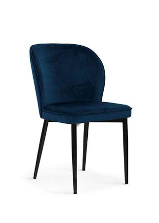 Chair AINE navy / black leg / BL86