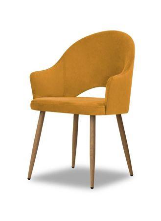 Chair GODA honey / foot oak / BL68