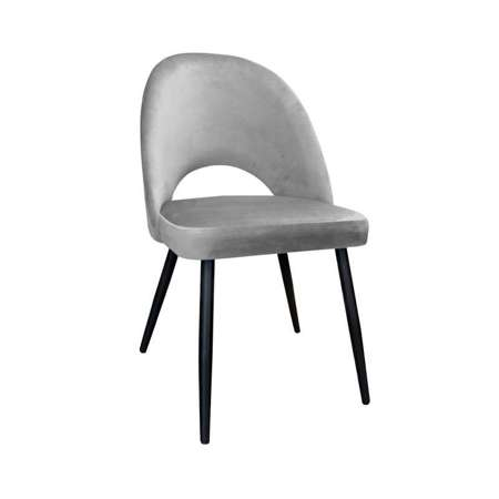 Gray upholstered LUNA chair material MG-17