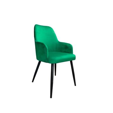 Green upholstered PEGAZ chair material MG-25