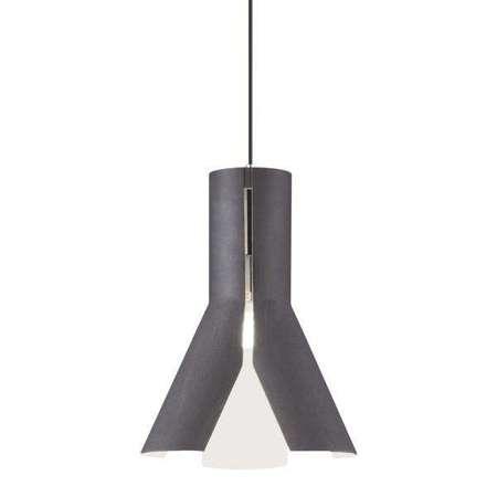 Hanging lamp Origami Design 1 black / white