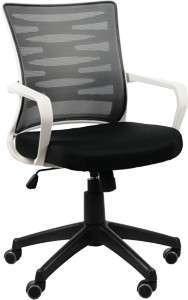 Krzesło Fotel obrotowy Rodos Szary/Czarny