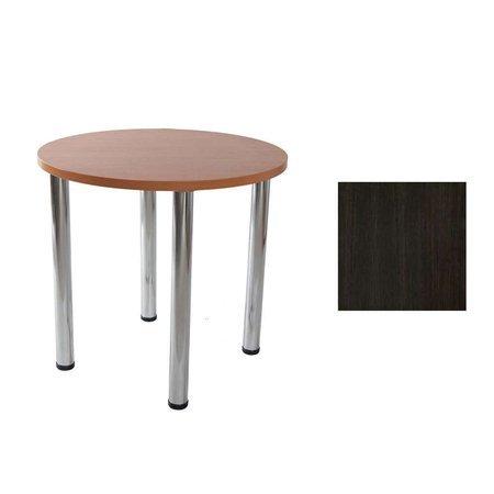 Lucio 01 Venge table Ø 80 cm