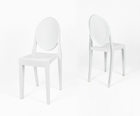 SK DESIGN KR003 WHITE CHAIR
