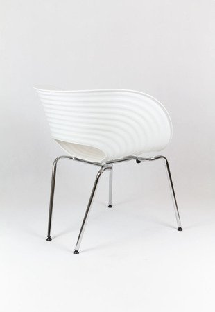 SK Design KR011 White Chair