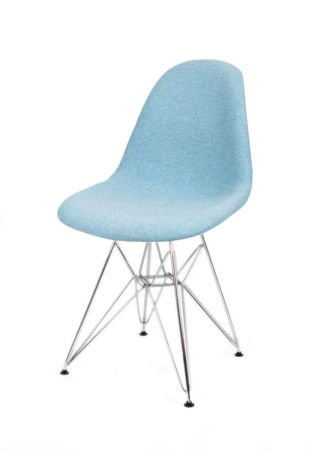 SK DESIGN KR012 TAPICERATED CHAIR MALAGA16 CHROME