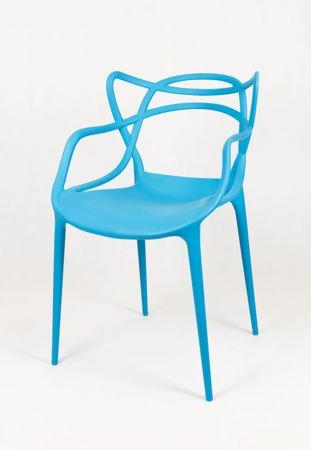 SK DESIGN KR013 BLUE CHAIR