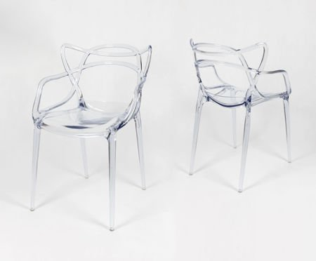 SK Design KR013 Clear Chair