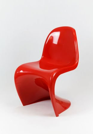 SK Design KR017 Red Chair Shine