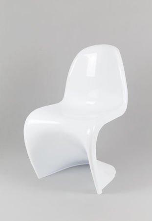 SK Design KR017 White Chair Shine
