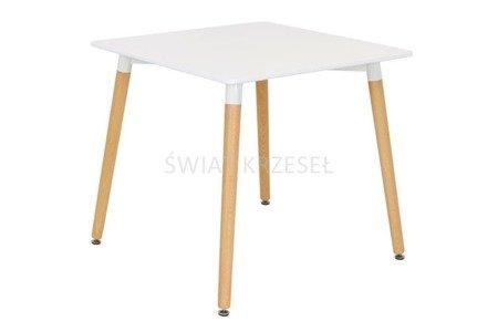 SK DESIGN ST04 WHITE TABLE 80 x 80 cm