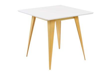 SK DESIGN ST15 WHITE TABLE 80 x 80 cm