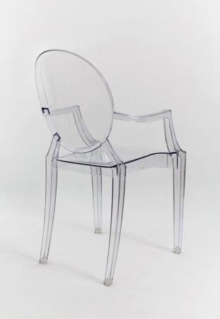 SK Design KR001 Clear Chair Ghost