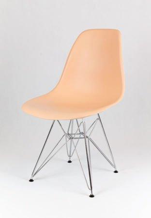 SK Design KR012 Peach Chair Chrome