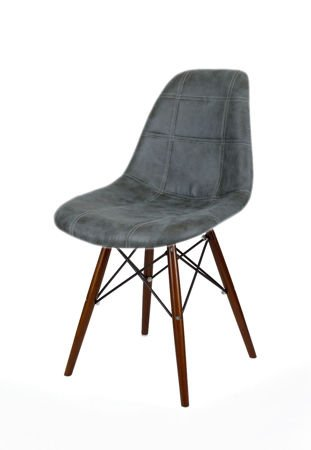 SK Design KR012 Upholstered Chair Eko, Wenge legs