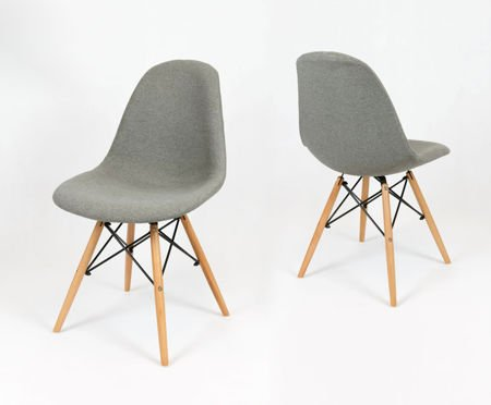 SK Design KR012 Upholstered Chair Malaga06, Beech legs