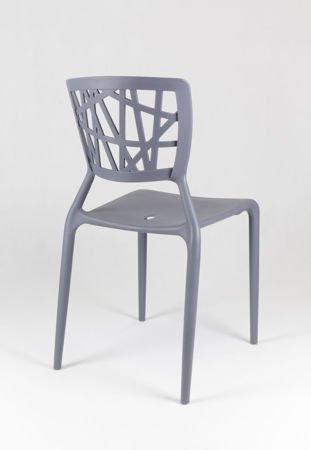 SK Design KR014 Grey Chair