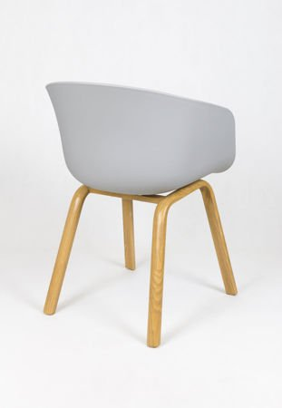 SK Design KR049 Grey Chair