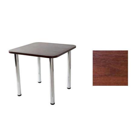 Table Paola 02 Walnut 80x80