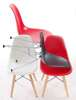 JuniorP016 chair red, beech legs