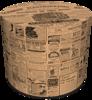 SKP BERTONI DECORATIVE POUF NEWSPAPER HD