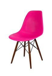 SK Design KR012 Dunkelrosa Stuhl Wenge