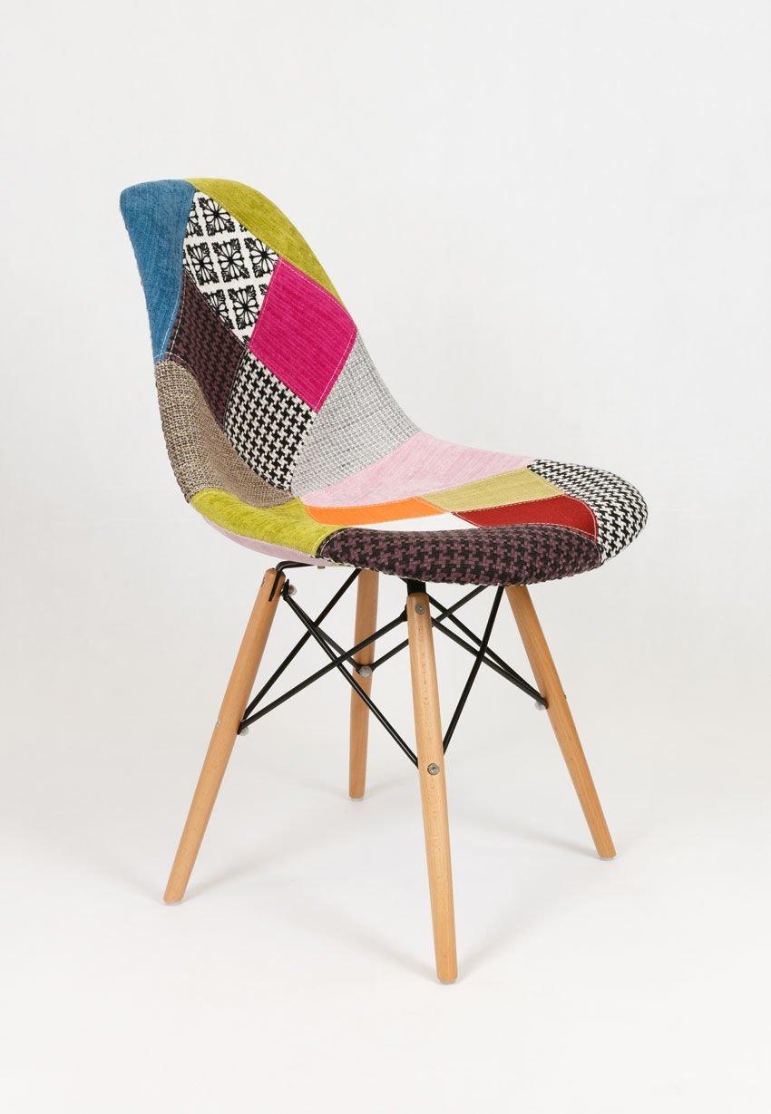 sk design kr012 polster stuhl patchwork 1 buche pat holz buche angebot st hlen salon. Black Bedroom Furniture Sets. Home Design Ideas