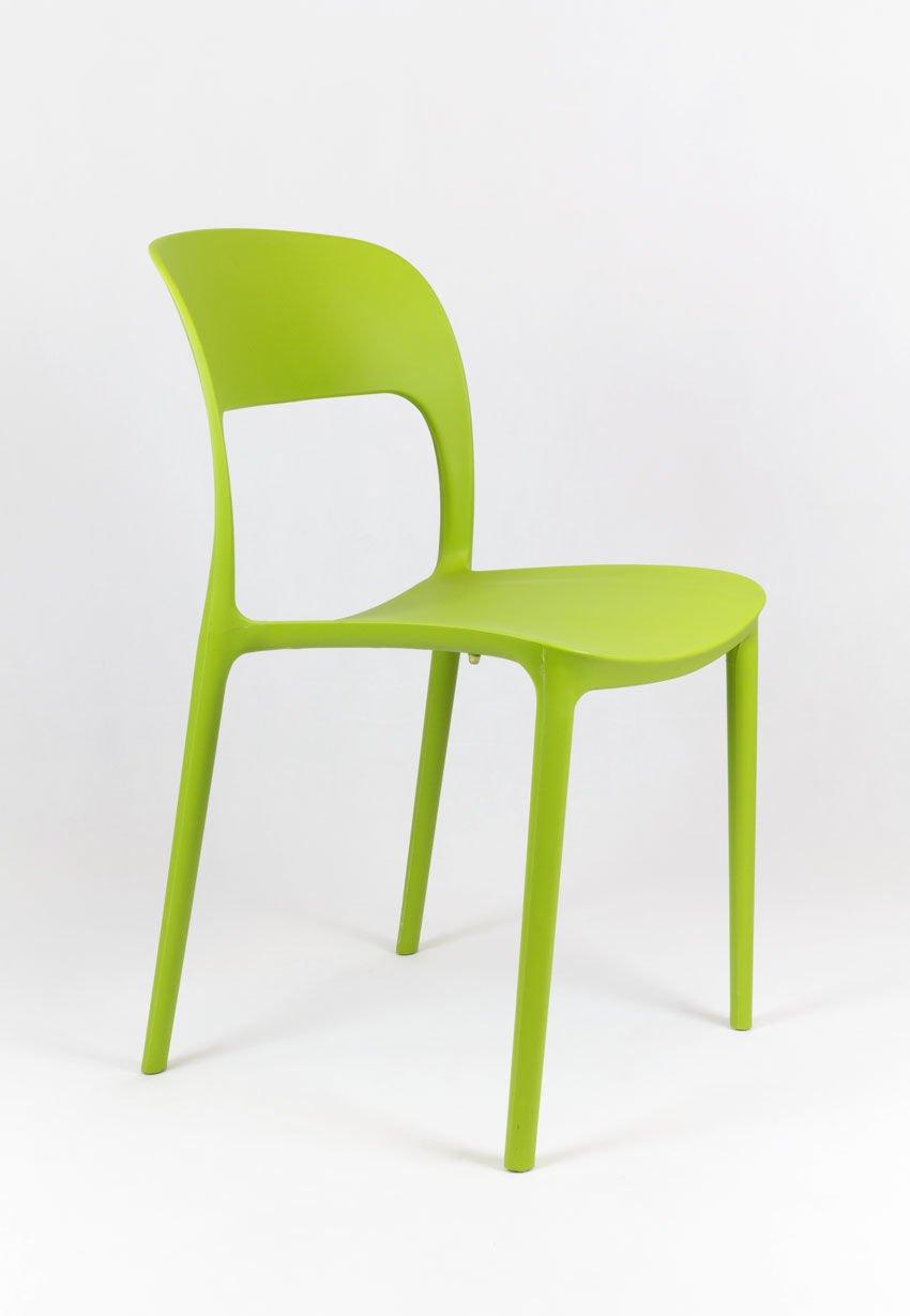 Sk design kr022 grun stuhl aus polypropylen gr n angebot - Grun schwarzer stuhl ...