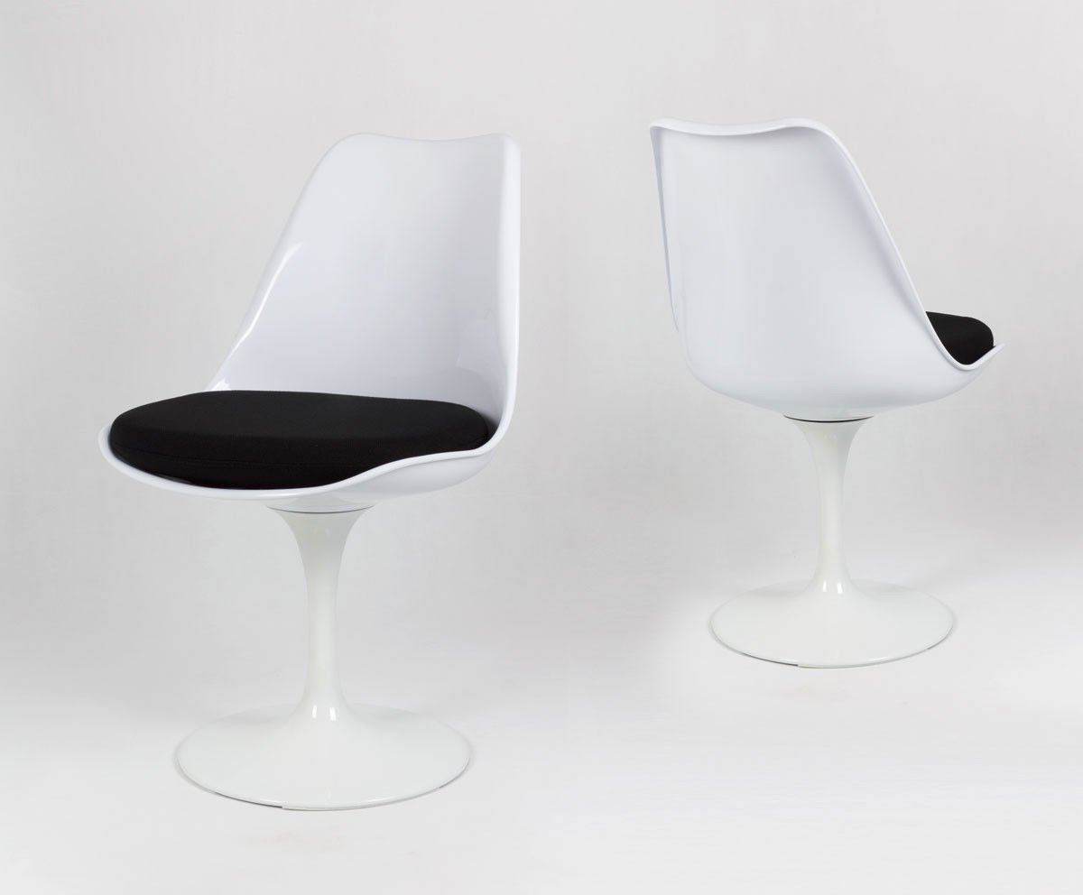 SK Design KR029 Weiss Drehstuhl + Kissen Weiss | ANGEBOT \ STÜHLEN ...