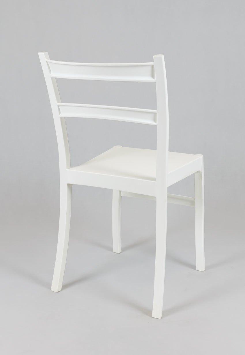 sk design kr032 weiss stuhl aus polypropylen retro weiss. Black Bedroom Furniture Sets. Home Design Ideas