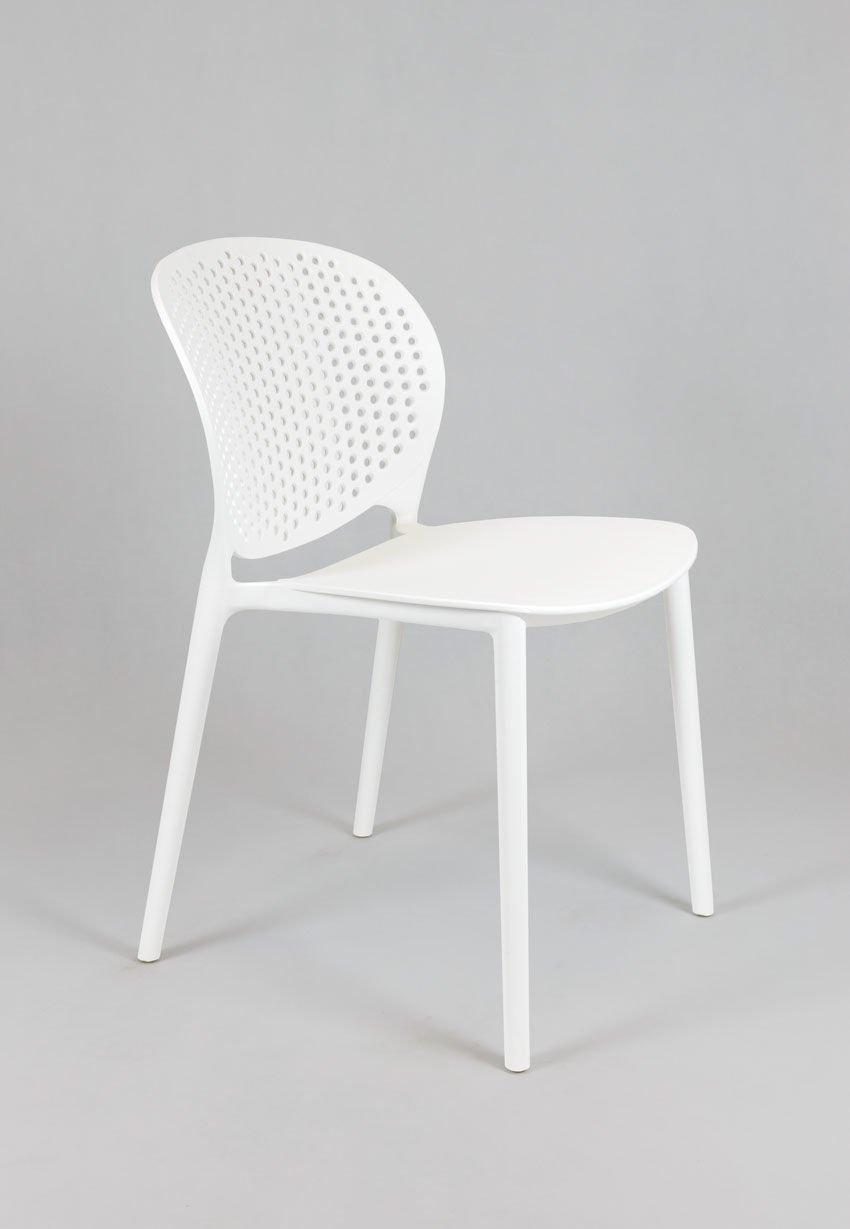 sk design kr033 weiss stuhl aus polypropylen weiss angebot st hlen salon esszimmer k che. Black Bedroom Furniture Sets. Home Design Ideas