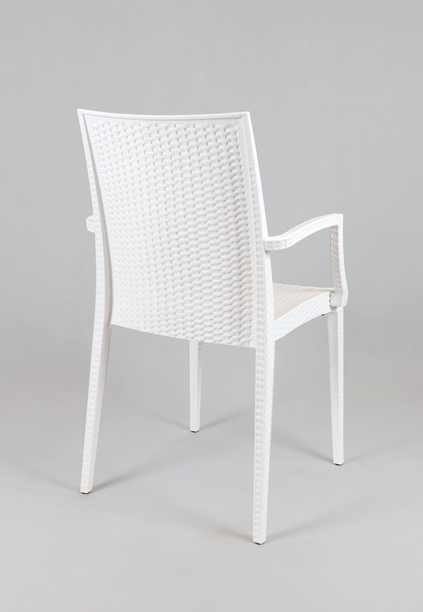 Sk design kr038 weiss stuhl aus polypropylen weiss for Stuhl design weiss