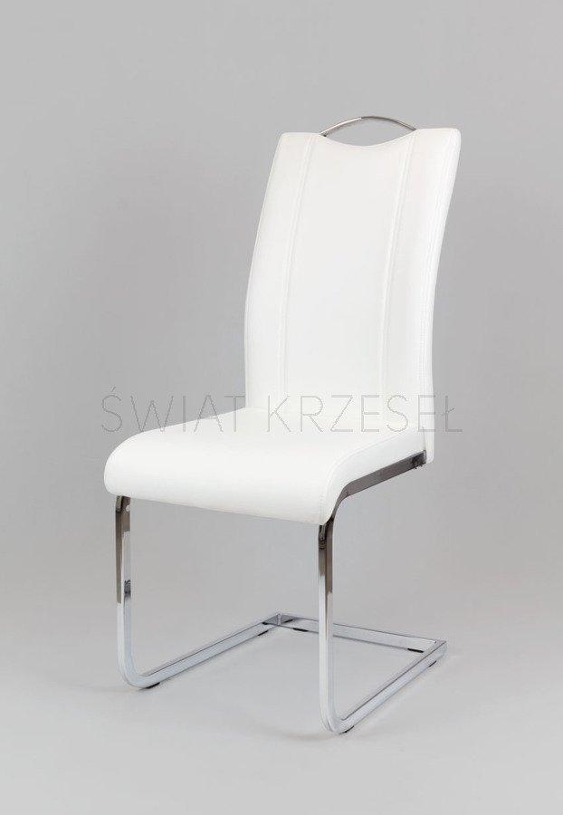 sk design ks003 weiss kunsleder stuhl mit chromgestell weiss angebot st hlen salon. Black Bedroom Furniture Sets. Home Design Ideas