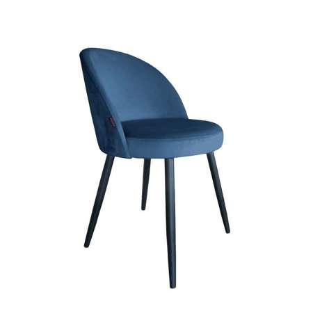 Blau gepolsterter Stuhl CENTAUR Material MG-33