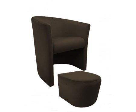 CAMPARI Sessel mit Fußstütze Magic Velvet 05