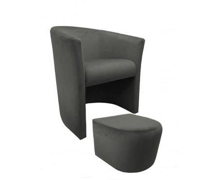 CAMPARI Sessel mit Fußstütze Magic Velvet 17
