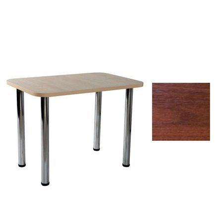 Carlo 04 Nussbaum 50x80x2,8 Tisch
