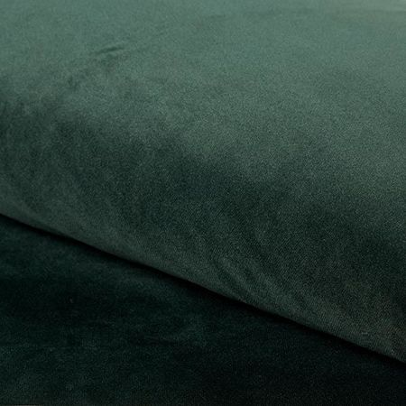 KALIPSO Stuhl dunkelgrün Material MG-25 mit goldenen Beinen