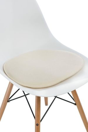 Poduszka na krzesło KR012 kremowy